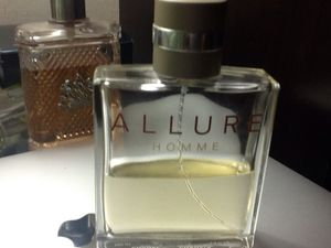 Allure Homme Chanel cologne. Gets a lot of compliments and lasts long. Touch of class. for Sale in Chevy Chase, MD