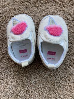 Baby Girl Shoe 0-3 Months Thumbnail