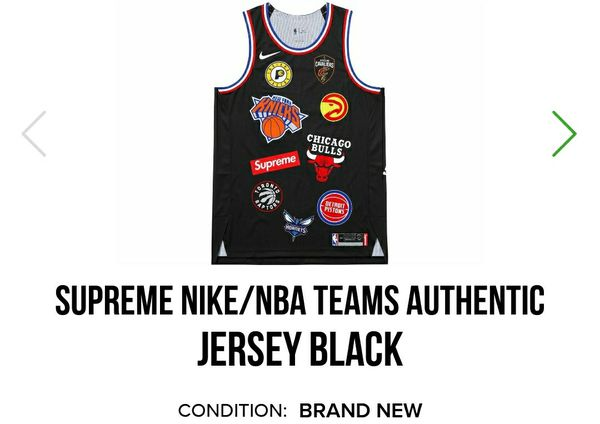 e20b1f876ee5 Supreme Nike NBA jersey size L for Sale in New York
