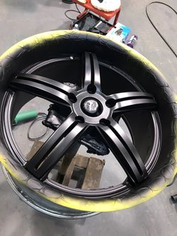 Vossen wheel painted by us Thumbnail