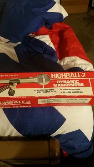 REALISTIC DYNAMIC MIC. for Sale in Portland, OR