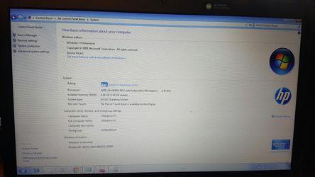 "HP ProBook 4545s AMD Vision Pro 16"" Screen, Thumbnail"