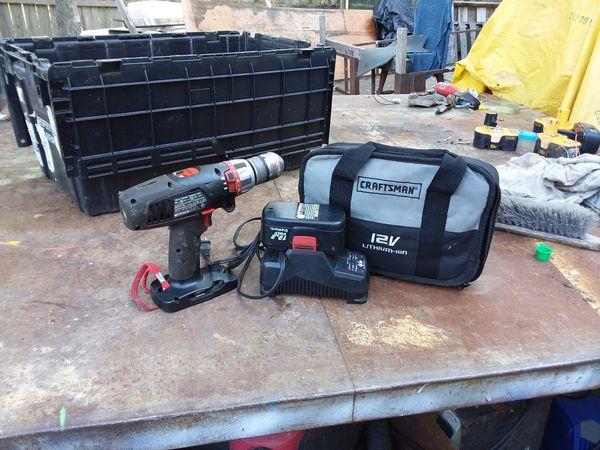 Craftsman Cordless Hammer Drill