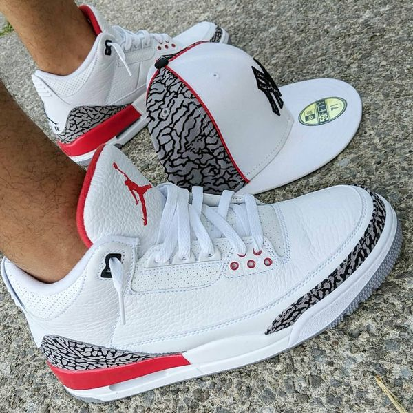 8bb853db97d6 Air Jordan Retro 3 Hall of Fame Katrina for Sale in Englewood