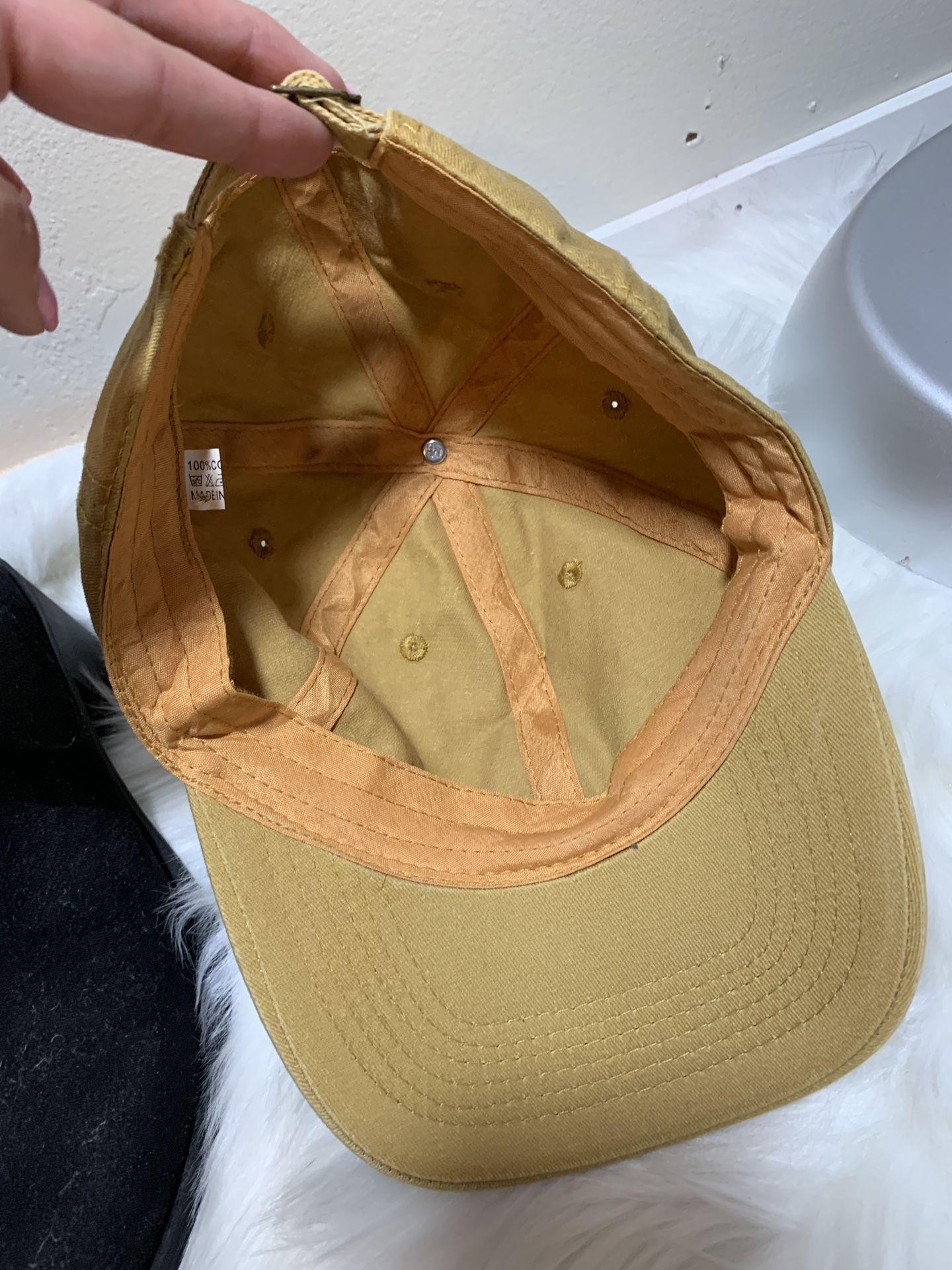 Never worn hat
