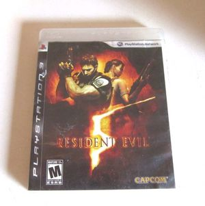 Resident evil 5 for PS3 for Sale in Houston, TX