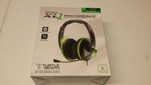 87f254fb314 Turtle Beach Earforce XL1 Wired Gaming Headset with Mic (For xBox 360)