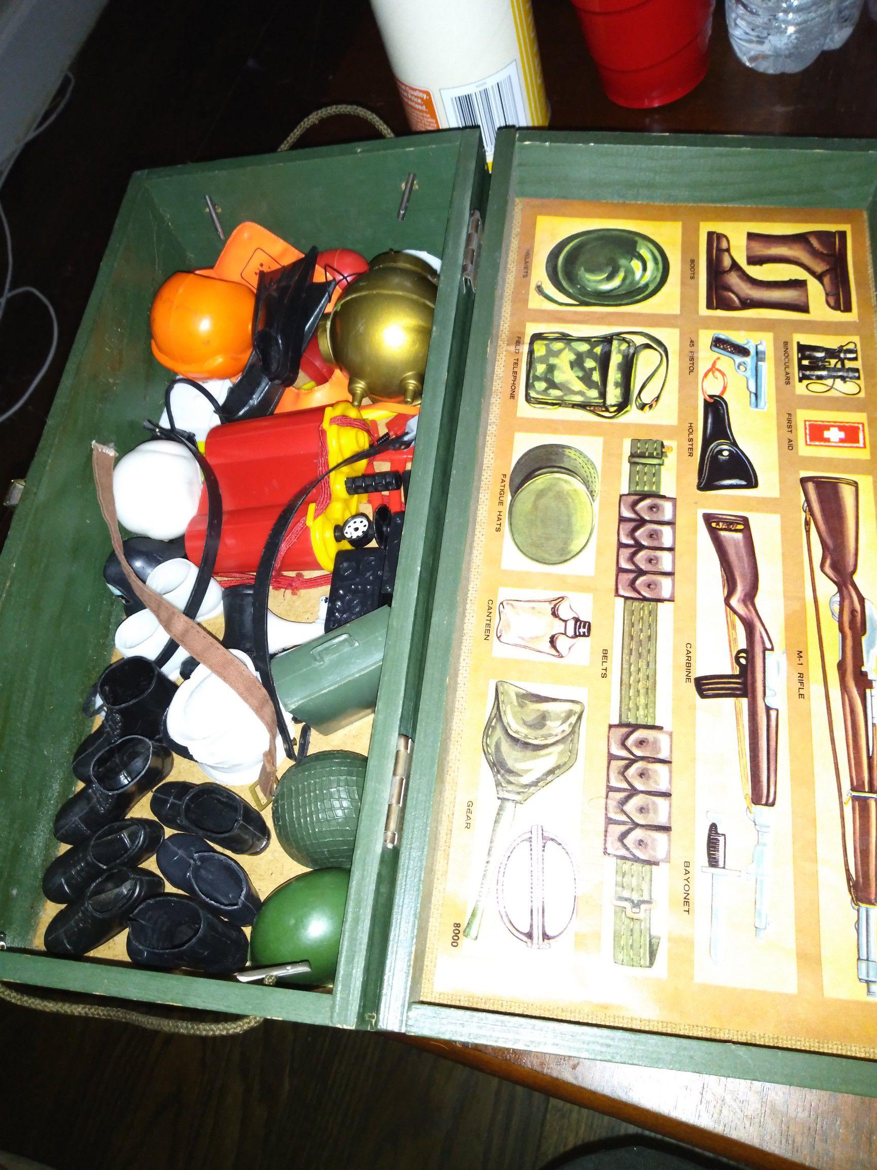 GI Joe along with accessories I'm building hub
