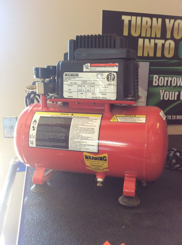 shop force portable air pressor for sale in amelia oh offerup 5 Gal Air Compressor 28 99sold