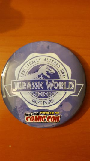 Jurassic World Comic Con Pin Collectible for Sale in New York, NY