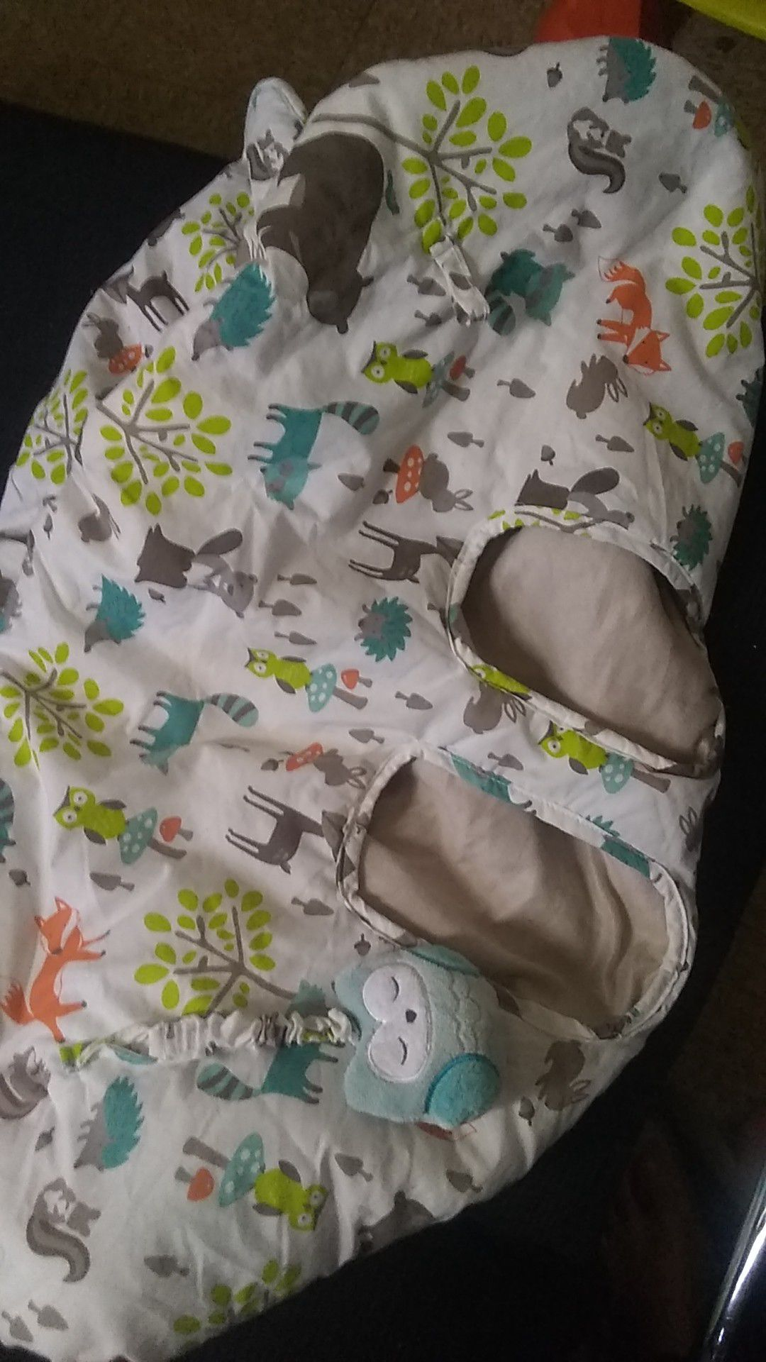 Baby basket cover