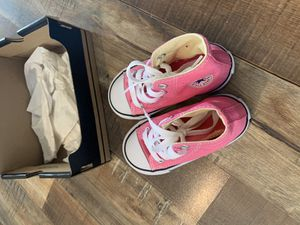 Photo Converse all star kids shoes Infant US 7 7J234 Pink