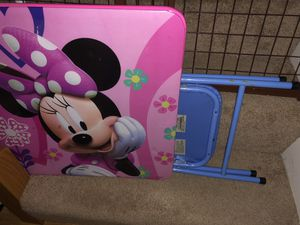 Minnie Mouse table and chair for Sale in Crofton, MD
