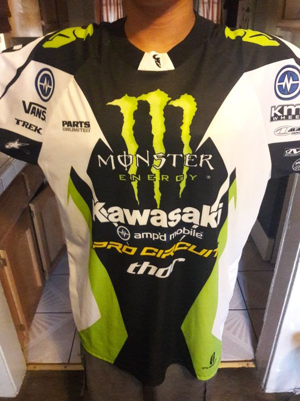 Monster Energy Supercross jersey XXL for Sale in Fresno 794879cfe