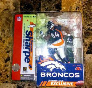 Shannon Sharpe (Denver Broncos-Modern) McFarlane Collectors Club Exclusive for Sale in Laveen Village, AZ