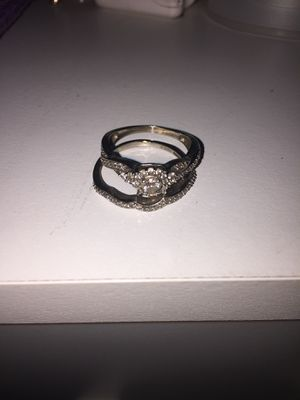 Wedding ring and band set for Sale in Kensington, MD