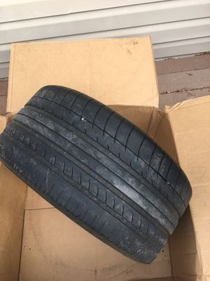 (2) tires continental 285/40/19 for Sale in Chillum, MD