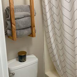 Handmade Towel Or Blanket Rack 30in High X 12in Wide Thumbnail