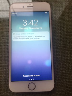 IPhone 6s unlocked for Sale in Aspen Hill, MD
