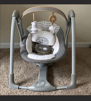Photo Portable baby swing