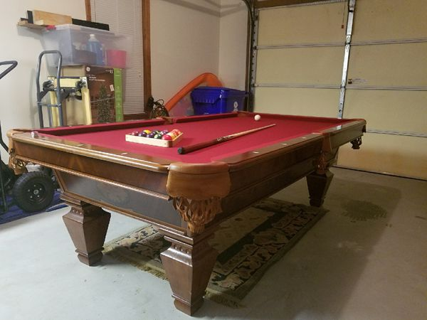 Cl Bailey Fischer Ft Pool Table Prestige Condition OBO - Pool table stores in atlanta ga