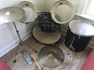 CB Drum Set With Cymbals for Sale in Centreville, VA