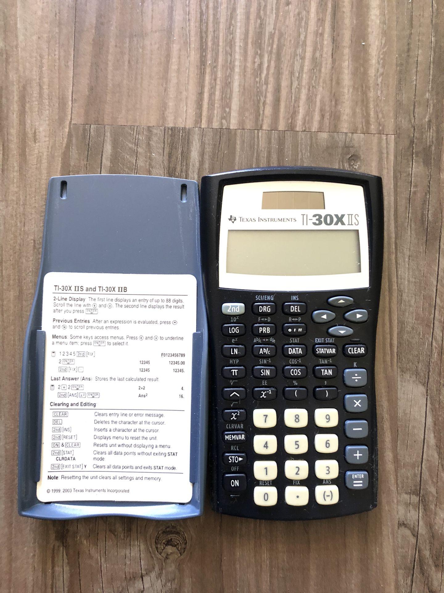 TI 30X IIS Scientific Calculator