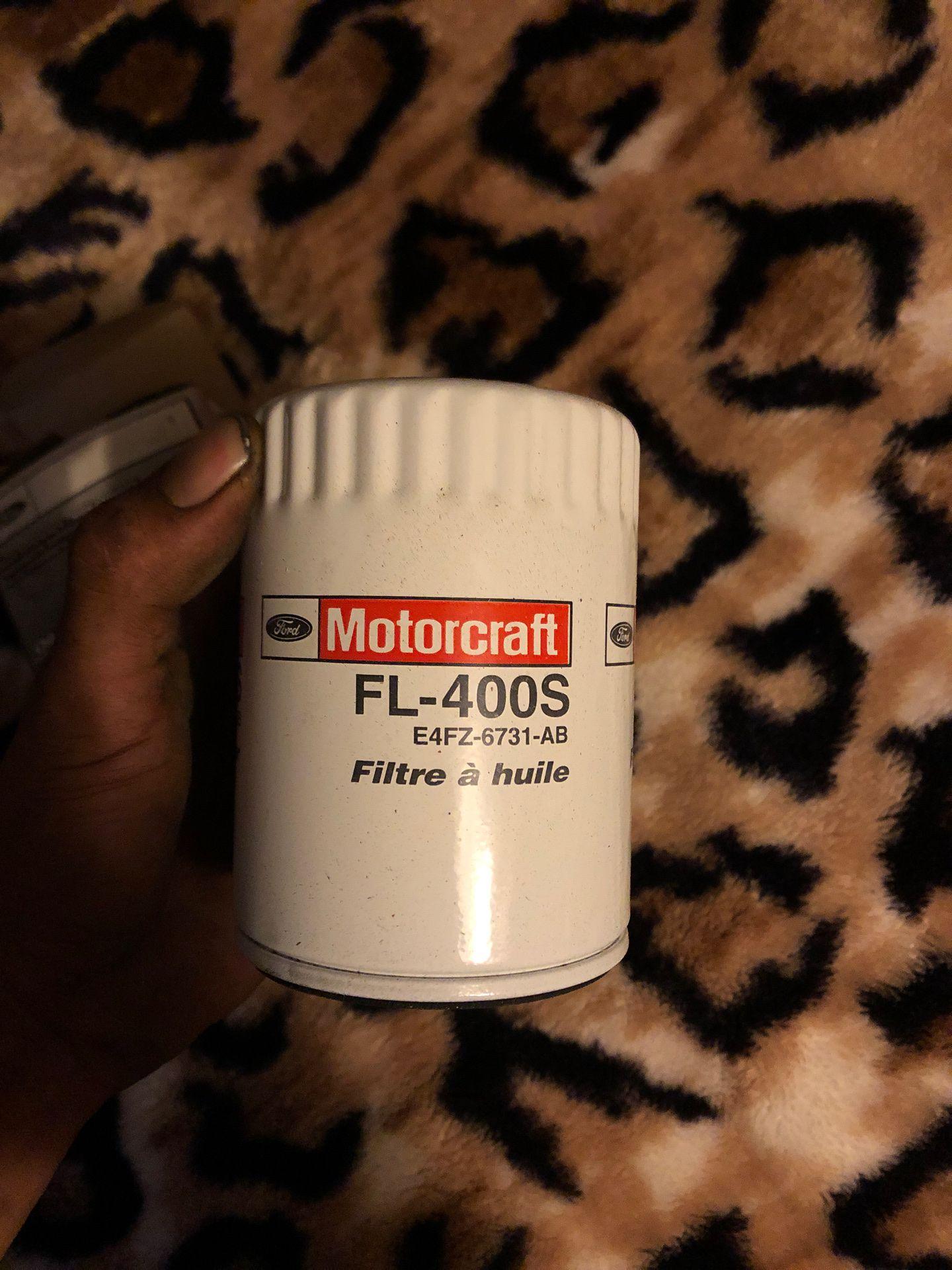 Motorcraft FL - 400S oil filters