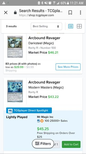magic the gathering: arcbound ravager for Sale in Levittown, PA - OfferUp
