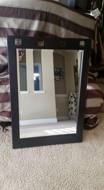 "Frame wall mirrors 40""×28"""