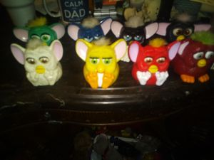 Furby Corp mcd toy collection 1998 for Sale in Kansas City, MO