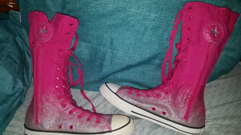 converse boots...