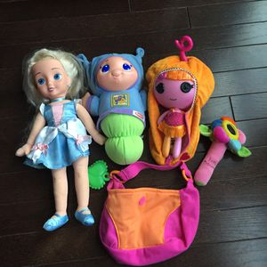 Bundle of girls dolls for Sale in Ashburn, VA