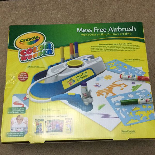 crayola mess free airbrush set 15 obo for sale in san jose ca