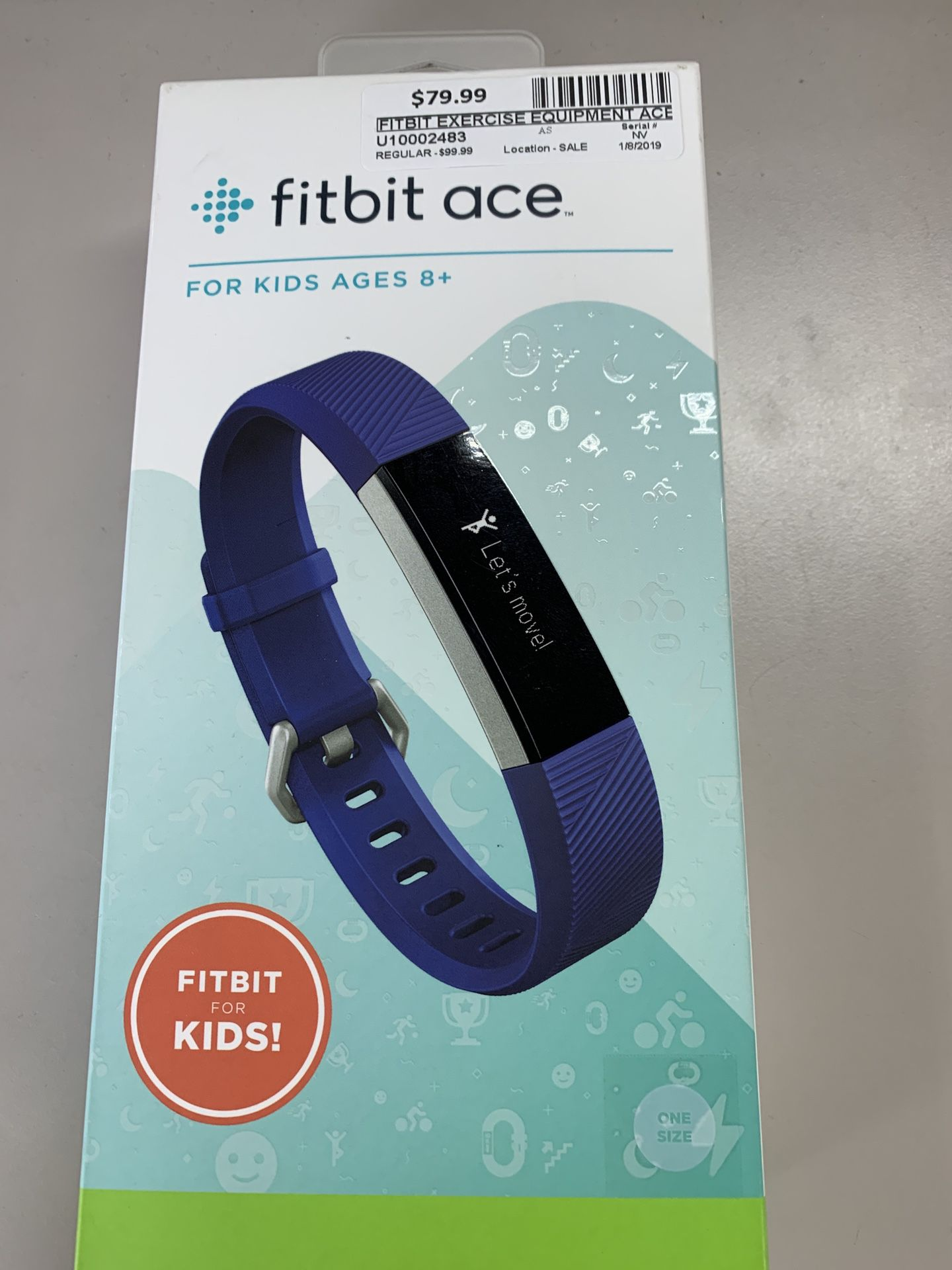 Fitbit Ace Fitness Tracker