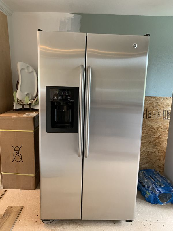 Stainless Steel Side By Side Refrigerator Freezer For Sale
