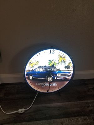 Neon clock for Sale in Fresno, CA