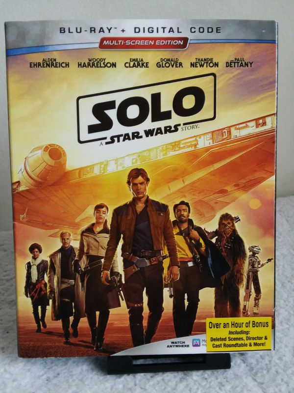 SOLO STAR WARS BLU-RAY for Sale in Lakewood, CA - OfferUp