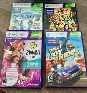 XBOX 360 Kinect Games for Sale in MD, US