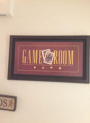 Decorative vintage game room art for Sale in Arlington, VA