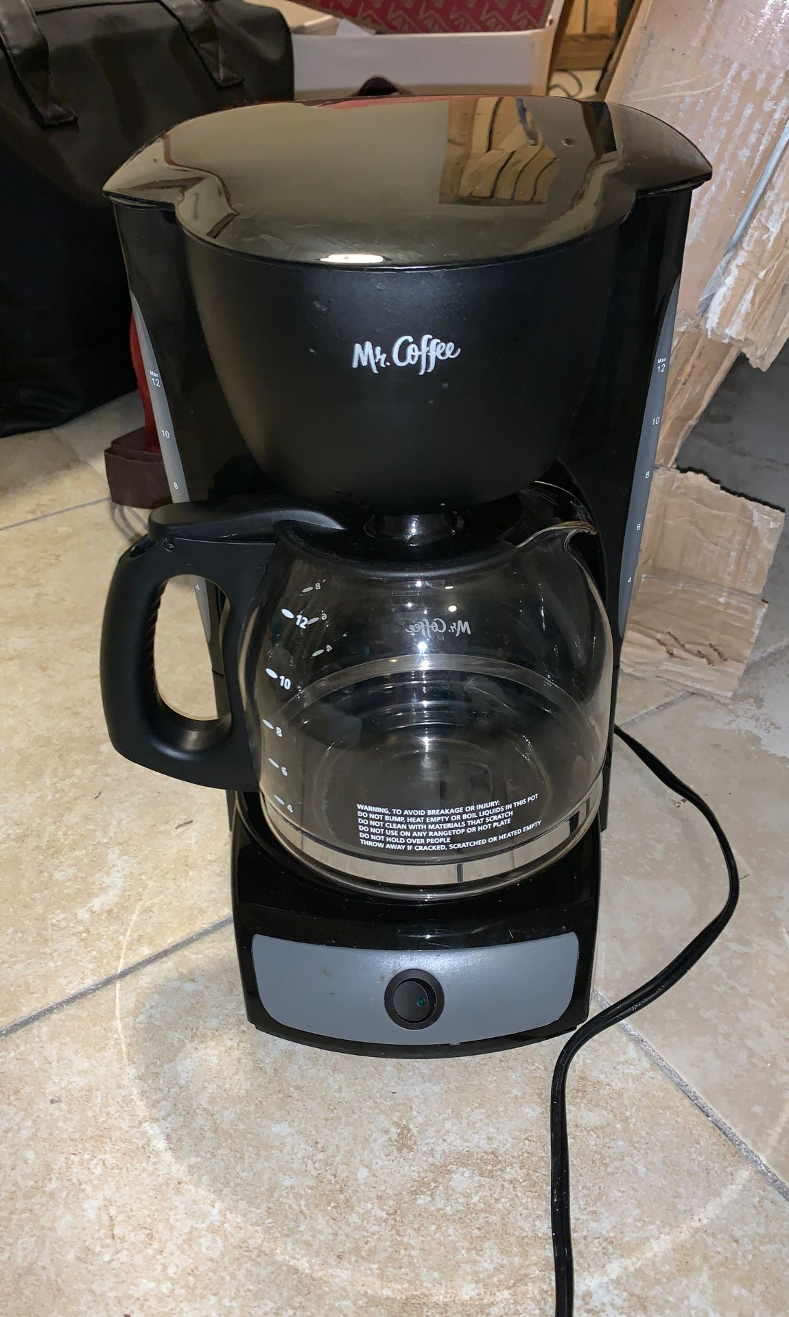 Mr Coffee 12 Cup Switch Maker