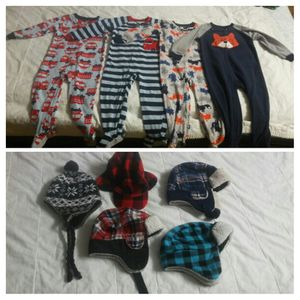 $2 each or 9/$15 Toddler PJs size 3T & Hats. Pick up ONLY around Silver Spring or Beltsville Maryland areas for Sale in Adelphi, MD