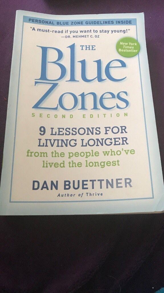 the blue zones second edition buettner dan
