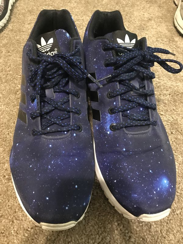 best service bd8da 8bf26 Adidas ZX flux (galaxy) (sz13) for Sale in Fayetteville, AR - OfferUp