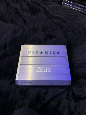 Photo Hifonics Zues Mono Block 1200 watt. Been used but works amazing. Just upgraded to sundown everything. 100 obo