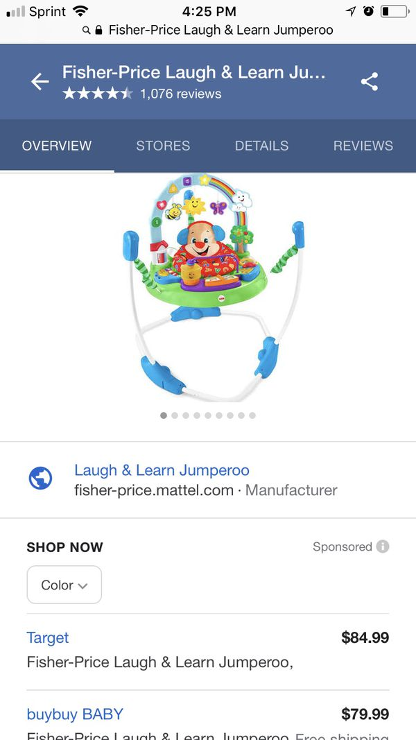 8a643dd4440e Fisher-Price Laugh   Learn Jumperoo for Sale in Cicero