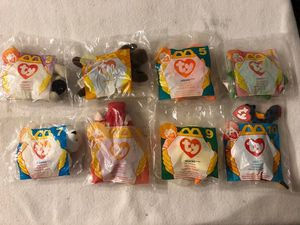 McDonalds 1996 Happy Meal Toys - TY Beanie Babies for Sale in Wilmington, NC