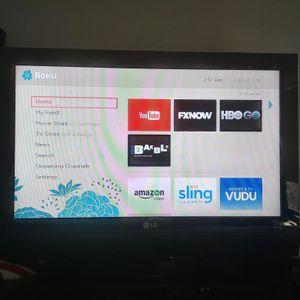 32' LG tv NO REMOTE for Sale in Boston, MA