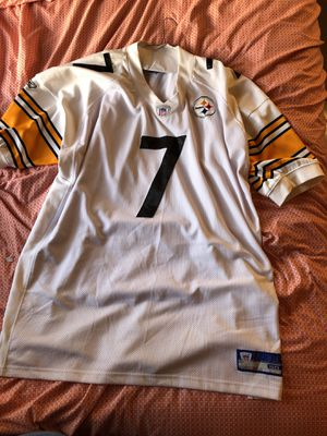 the latest 8f5e5 b222f Authentic Stitch Ben Roethlisberger jersey for Sale in Miami Gardens, FL -  OfferUp