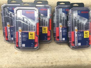 BOSCH Drill Bit Set for Sale in Chantilly, VA